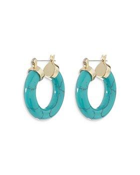 Luv Aj - Baby Amalfi Hoop Earrings