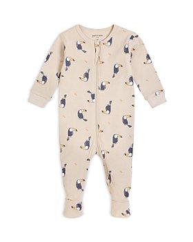 FIRSTS by petit lem - Boys' Bird Print Cotton Footie Pajama - Baby