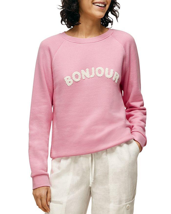 Whistles - Bonjour Graphic Sweatshirt