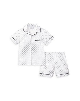 Petite Plume - Unisex Classic Sleep Shorts Set - Baby, Little Kid, Big Kid
