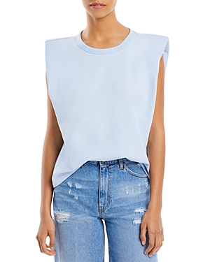 Endless Rose Cottons PADDED SHOULDER MUSCLE TEE
