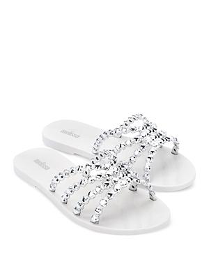 Women's Crystal Slip On Sandals