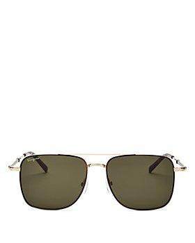 Salvatore Ferragamo - Men's Square Sunglasses, 56mm