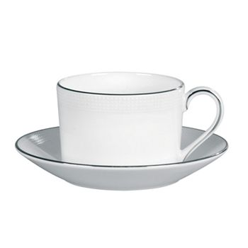 "Vera Wang - for Wedgwood ""Blanc Sur Blanc"" Tea Cup"