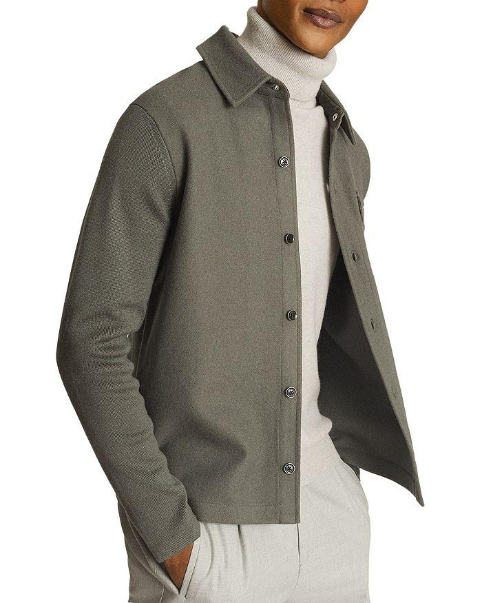 REISS - Wishaw Button Through Overshirt