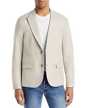 Vince - Slim Fit Linen Blazer
