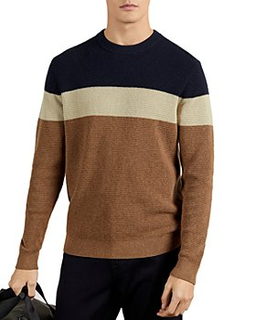 Ted Baker - Lastmi Waffle Knit Color Blocked Pullover
