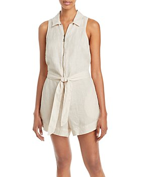 Bella Dahl - Zip Up Linen Romper