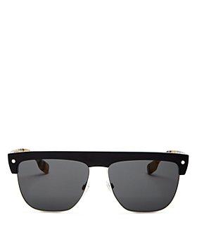 Burberry - Men's Flat Top Square Sunglasses, 59mm