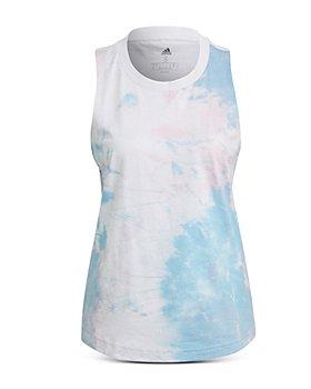 Adidas - Cotton Tie Dyed Tank Top