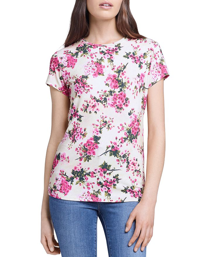 L Agence L'AGENCE RESSI BOUQUET TEE