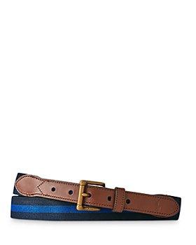 Polo Ralph Lauren - Leather Trim Stretch Belt