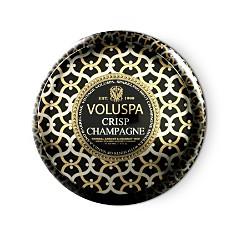 "Voluspa Maison Noir ""Crisp Champagne"" 2 Wick Printed Tin Candle - Bloomingdale's Registry_0"