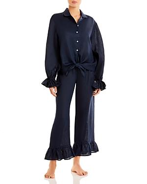 Sleeper Rumba Linen Pajama Set