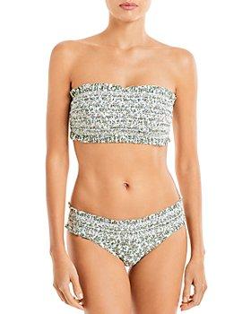 Tory Burch - Costa Bandeau Bikini Top & Costa Hipster Bikini Bottom