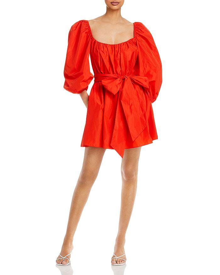 CINQ À SEPT Dresses CINQ A SEPT DELILAH PUFF SLEEVE DRESS
