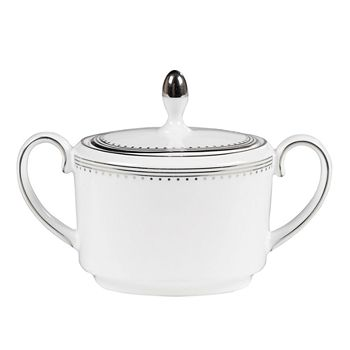 "Vera Wang - for Wedgwood ""Grosgrain"" Sugar Bowl"