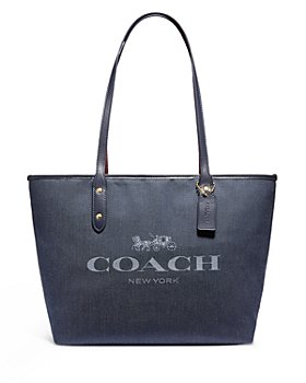 COACH - City Small Leather Tote
