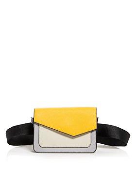 Botkier - Cobble Hill Leather Crossbody Belt Bag