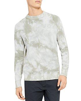 Theory - Masten Tie Dye Crew Sweater