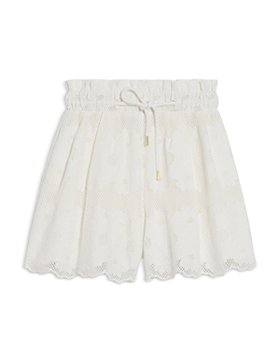 Sandro - Adam Embroidered Lace Shorts