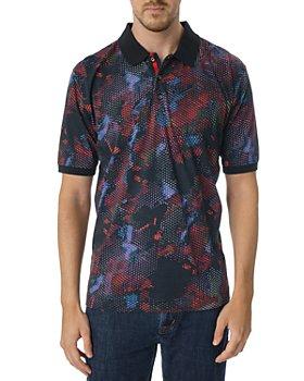 Robert Graham - Flame Print Classic Fit Polo Shirt