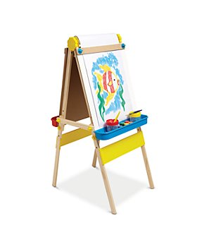Melissa & Doug - Double Sided Wooden Easel - Ages 3+