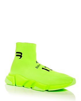 Balenciaga - Speed Soccer Knit High Top Sneakers