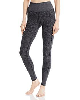 Alo Yoga - High-Rise Heathered Lounge Leggings