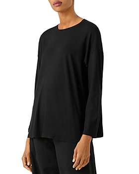 Eileen Fisher - Crewneck Box Top