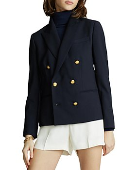 Ralph Lauren - Double Breasted Stretch Wool Blazer