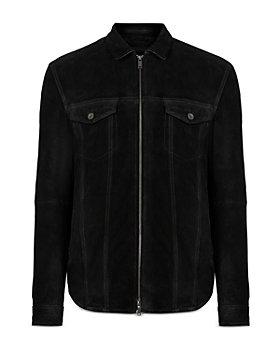John Varvatos Star USA - Davis Suede Slim Fit Shirt Jacket