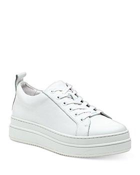J/Slides - Women's Noca Leather Platform Sneakers