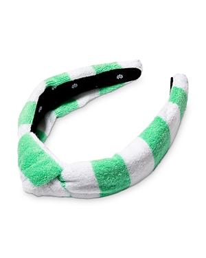 Lele Sadoughi Knotted Terrycloth Headband
