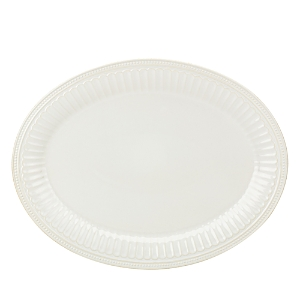 Lenox French Perle Groove 16 Oval Serving Platter