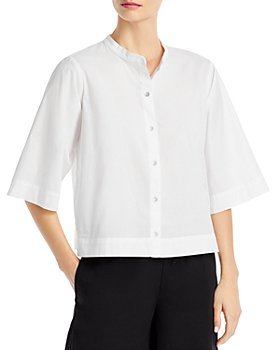 Eileen Fisher - Band Collar Shirt