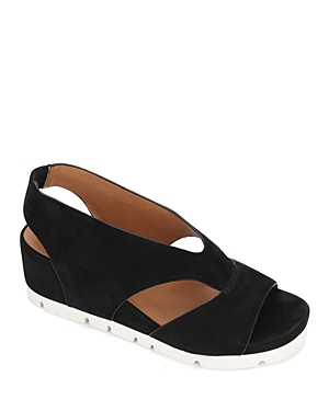 Women's Gisele Sporty Slingback Suede Sandals