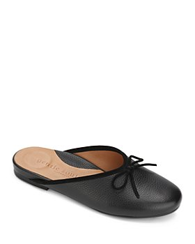 Gentle Souls by Kenneth Cole - Women's Eugene Bow Leather Slide Mules