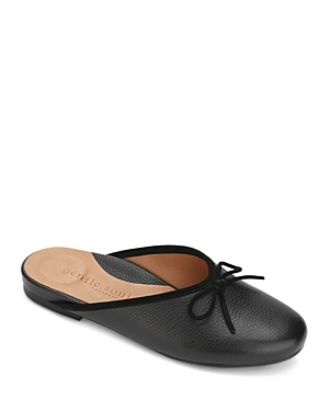 Women's Eugene Bow Leather Slide Mules