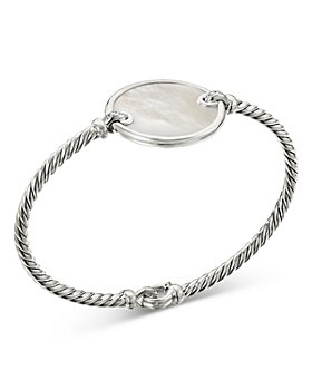 David Yurman - DY Elements® Bracelet with Mother of Pearl and Pavé Diamonds