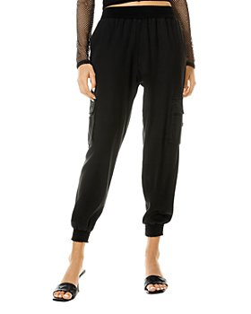Alice and Olivia - Dede Smocked Cargo Pants