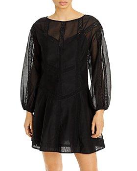 Rebecca Taylor - Long Sleeve Organza Dress