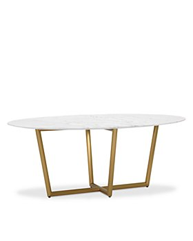 Mitchell Gold Bob Williams - Modern Oval Dining Table Collection