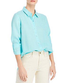 Eileen Fisher Petites - Classic Collar Shirt