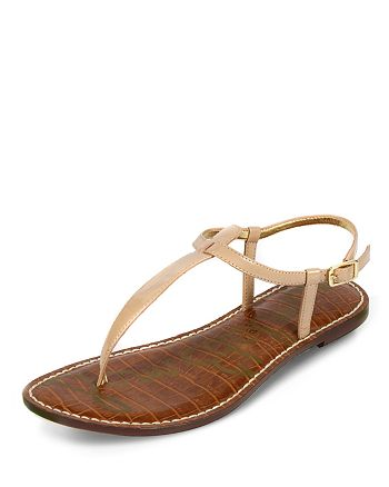 Sam Edelman - Women's Gigi Leather Thong Sandals