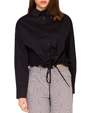Drawstring Hem Shirt (43% off)