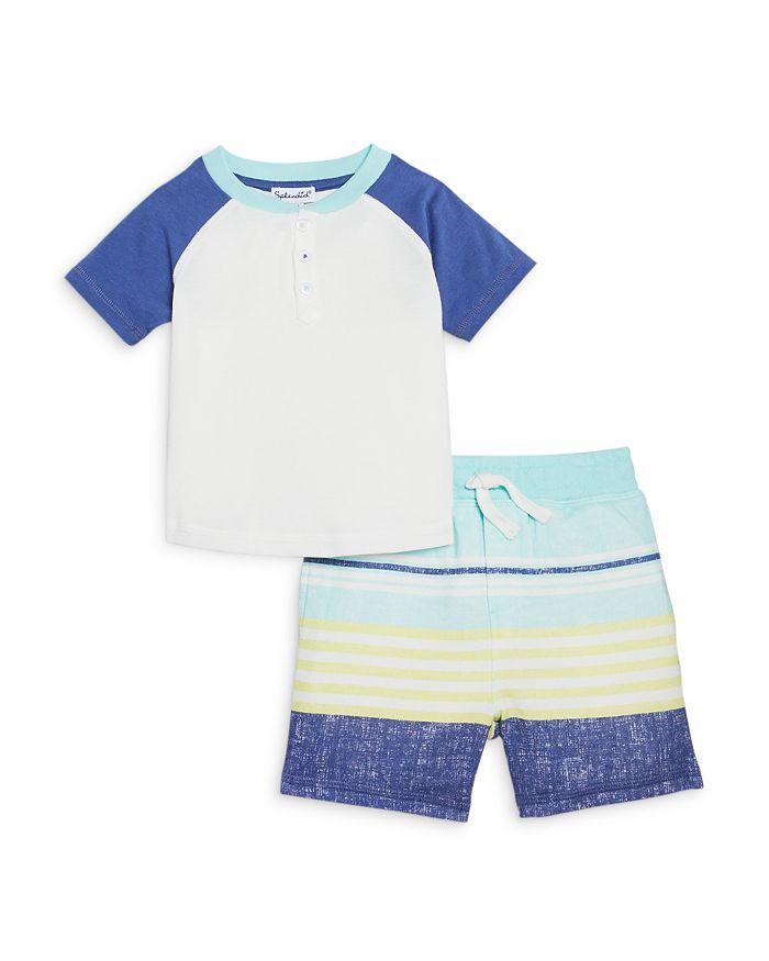 Splendid - Boys' Sunkissed Henley & Shorts Set - Baby
