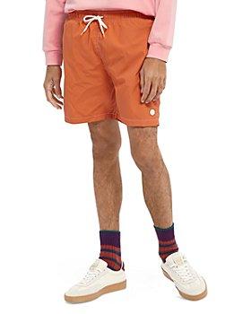 Scotch & Soda - Medium Length Solid Swim Shorts