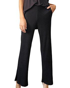 LBLC The Label - Erin Rib Knit Wide Leg Pants