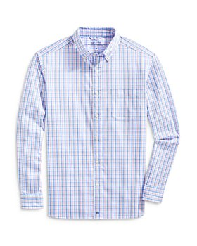 Vineyard Vines - Checked Classic Fit Performance Shirt